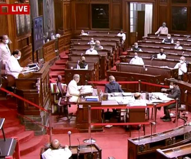 Image ofLIVE-Parliament-Monsoon-Session-Rajya-Sabha-proceedings-adjourned-till-9-am-tomorrow-after-discussion-on-Corona