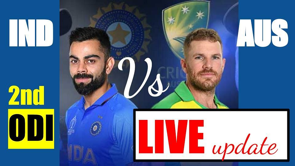 Image ofIndia-Vs-Australia-2nd-ODI-Live-Cricket-Score-Online-Australia-won-the-toss-decided-to-bat-first-see-playing-XI