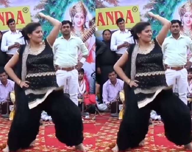 Image ofNow-this-dance-video-of-Sapna-Chaudhary-is-viral-she-is-rocking